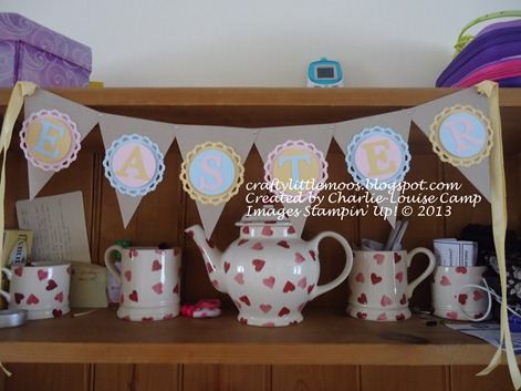 easter bunting pennants die Check it out at craftylittlemoos.blogspot.com Created by Charlie-Louise Camp Images Stampin' Up! © 2013 24-03-2013 09-13-25
