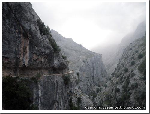Poncebos-Canal de Trea-Jultayu 1940m-Lagos de Covadonga (Picos de Europa) 5087