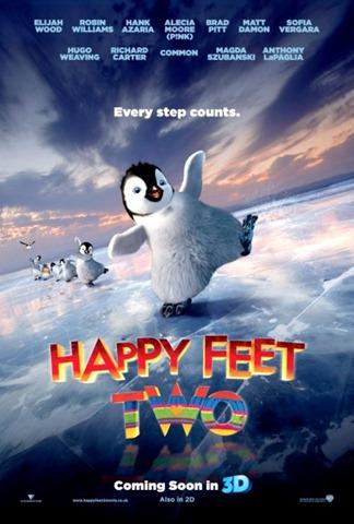 ภาพโปสเตอร์และ Trailer ตัวล่าสุดของภาพยนตร์ Happy Feet 2