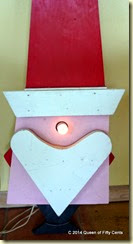 Glowing Santa nose