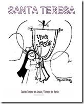 SANTA TERESA COLOREAR 3 1