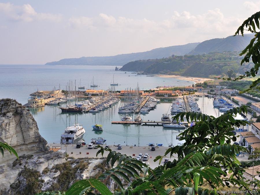 Tropea Seaport