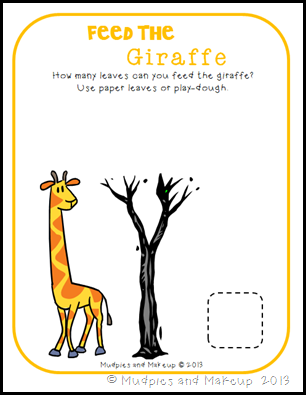 Giraffe Printables 11