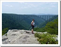 New River Gorge WV-Long Point Trail WV