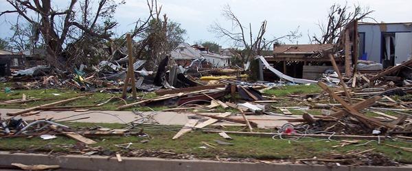 Moore Tornado Devastation