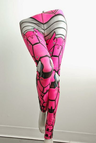Bionic Leggings from Mitmunk on Etsy