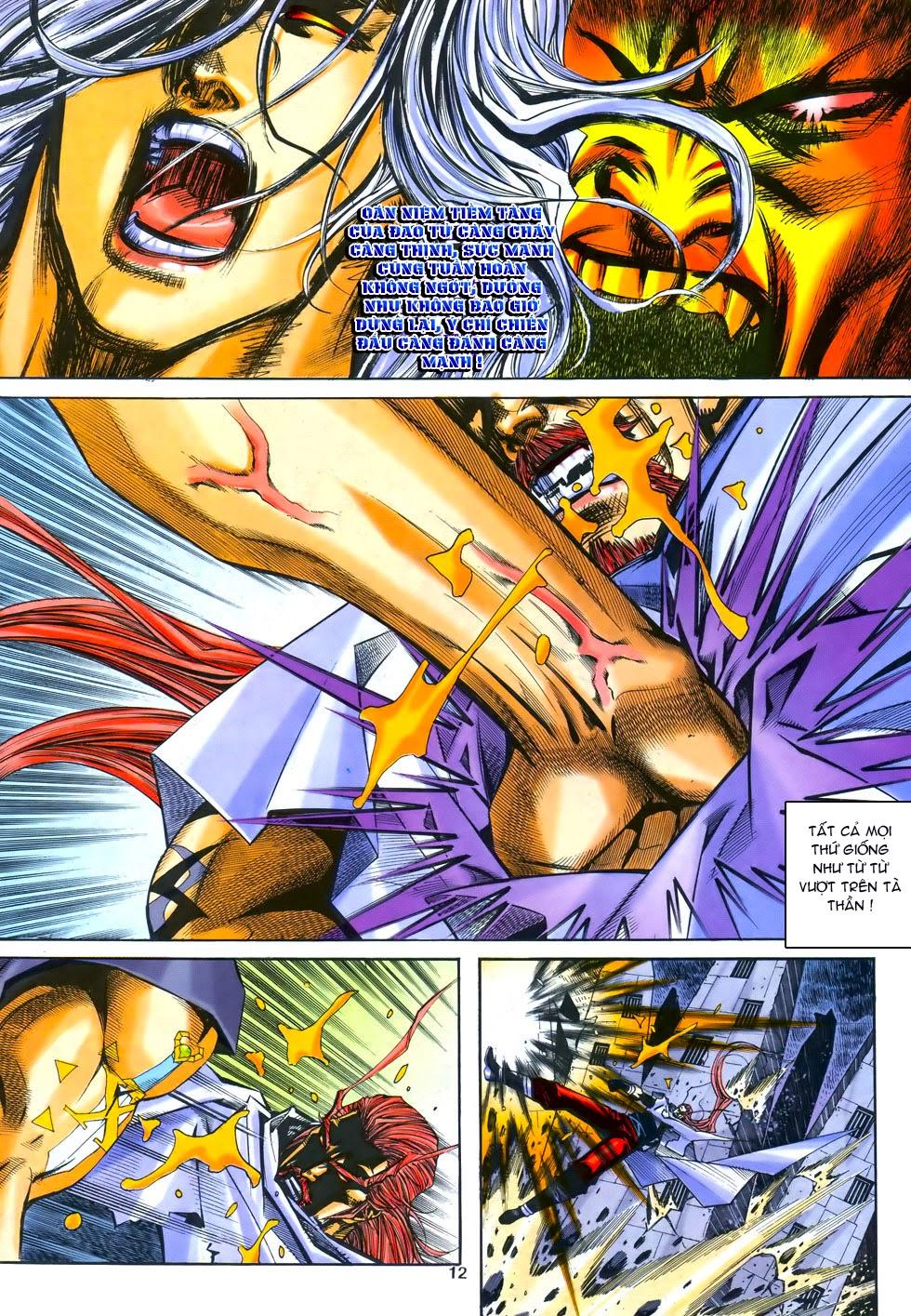 X Bạo Tộc chap 69 - Trang 12