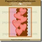 cascading heart card ppr cfj-200