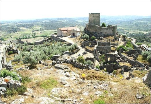 Marialva - Glória Ishizaka -  cidadela no interior da muralha 5