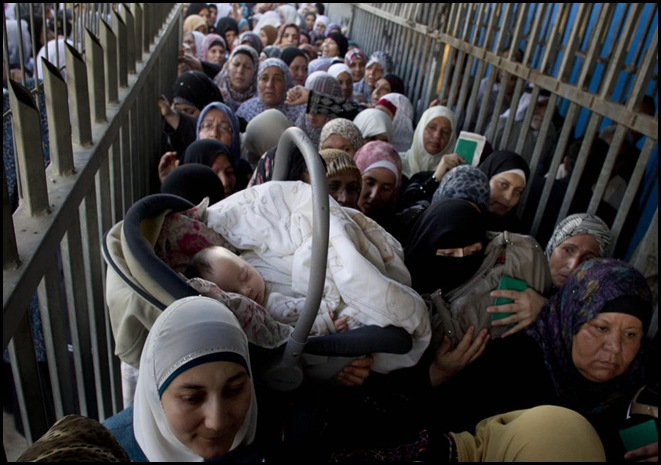 APTOPIX Mideast Israel Palestinians Ramadan