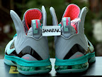 nike lebron 9 ps elite grey candy pink 7 05 LeBron 9 P.S. Elite Miami Vice Official Images & Release Date