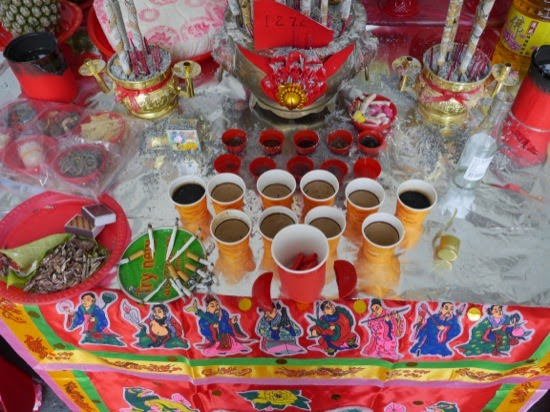 Food and drink for the Hungry Ghosts