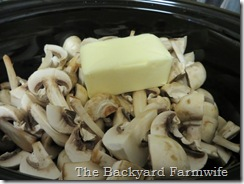 buttery beef & mushroom stew - The Backyard Farmwife