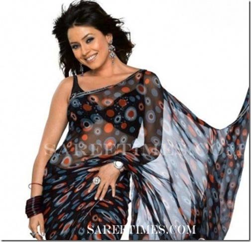 Mahima_Chaudhary_Designer_Saree
