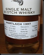 Mortlach Label