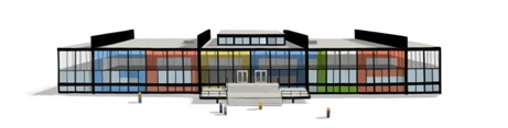 Mies van der Rohe's 126th Birthday - Google Logo