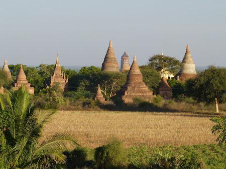 Obiective turistice Myanmar: Dupa amiaza in Bagan