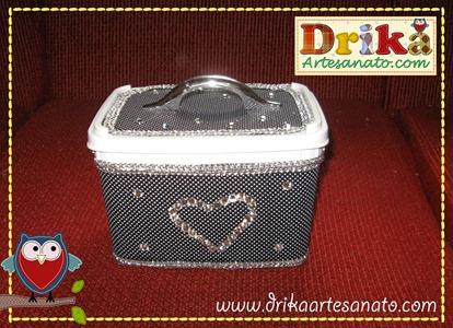 23 Passo a passo de pote de sorvete decorado Drika Artesanato