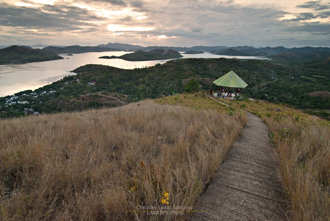 Almost Sunset at Coron's Mt. Tapyas