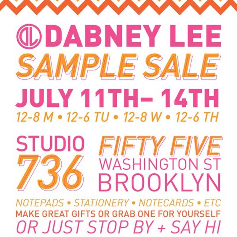 Dabney Lee Sample Sale!