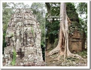 景點篇 - 吳哥觀光通行證 Angkor Pass; 巴戎寺 Bayon 的燦爛微笑 & 塔普倫寺 Ta Prohm 的堅韌樹根