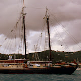 A Beautiful Ship In The Christiansted Harbor - St. Croix, USVI