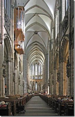 interior gotik