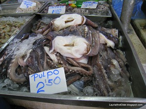 Pulpo - octopus