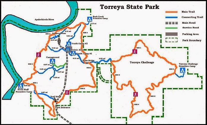 00c - Torreya State Park Map