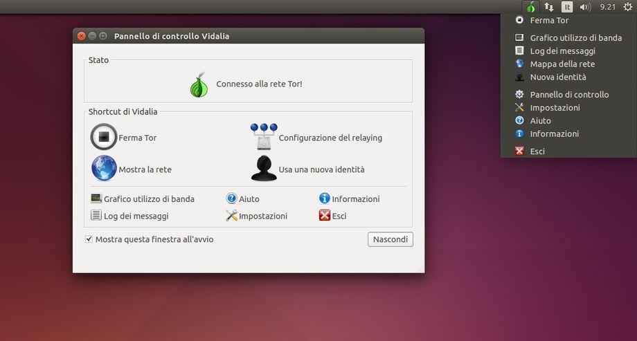 Tor e Vidalia in Ubuntu