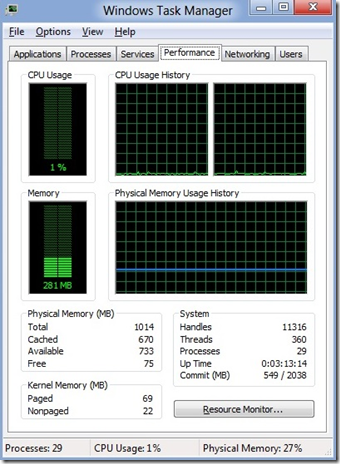Windows 8 Gives More Battery Life With Less Memory Consumption 2
