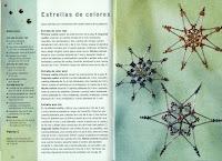 Revista Adornos navideños con cuentas y abalorios