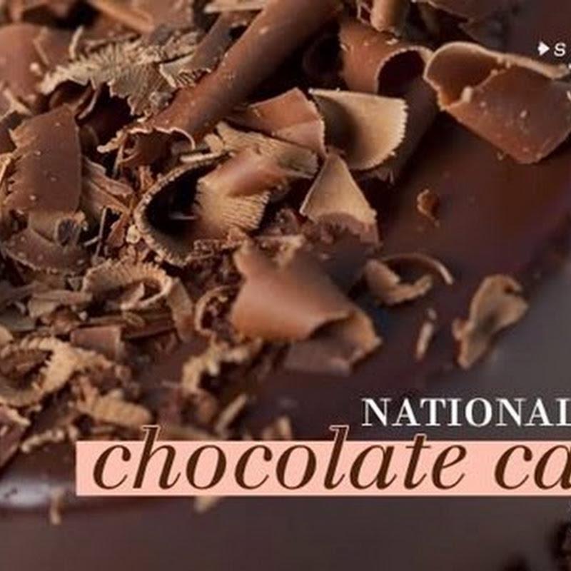Día Nacional del Pastel de Chocolate