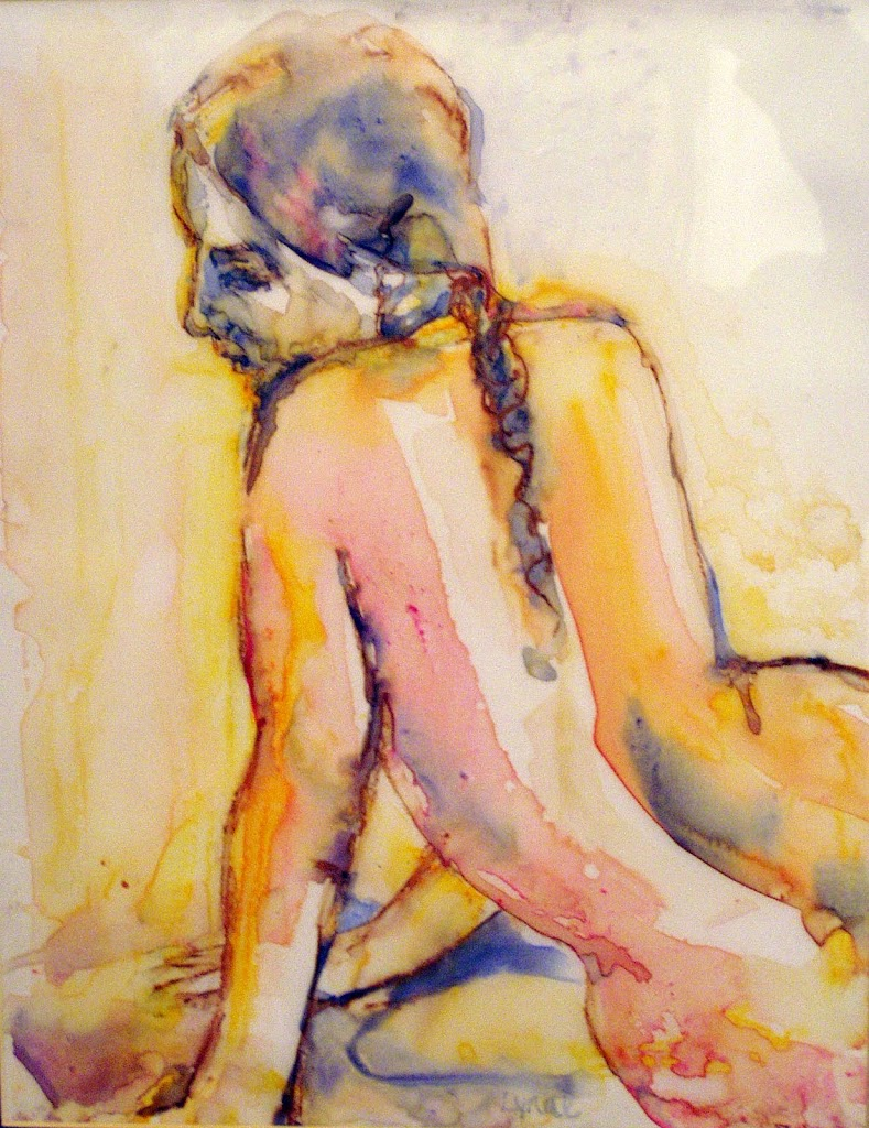 Nude from the Back - SOLD