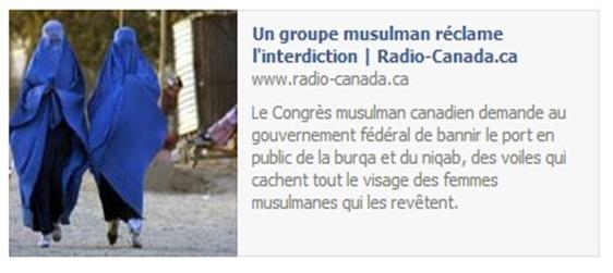 burqa interdita al canadà