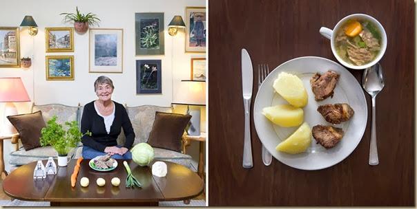 Portraits de grand-mères et leurs plats cuisinés (33)