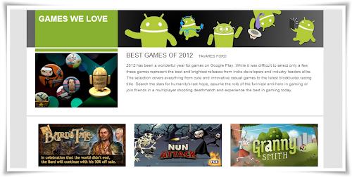 12 migliori giochi del 2012 secondo Google