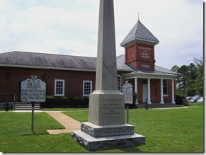 James Lafayette Marker WO-17  in front of Old New Kent Co. Courthouse