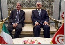 Gentiolini e Essebsi