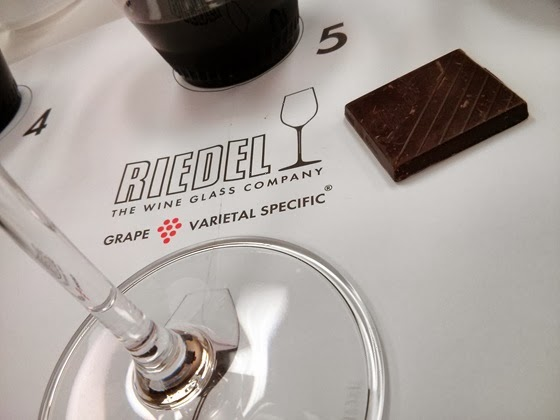 Riedel even provides specially made tasting placemats!