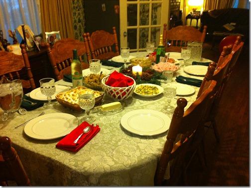 2012-12-25 Christmas dinner 02