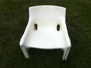 Vicario armchair, white