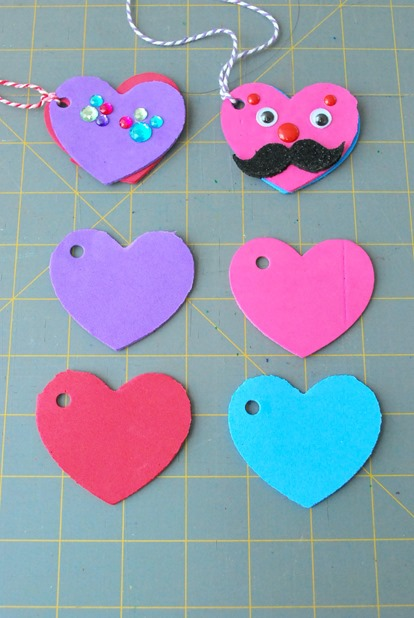 Foam Heart Locket 1