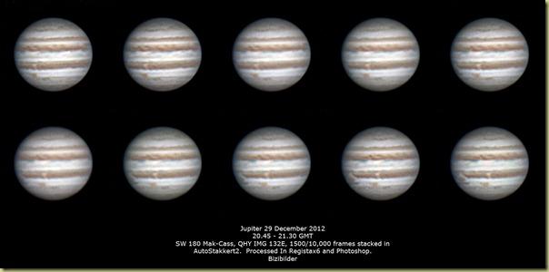 29 December 2012 Jupiter