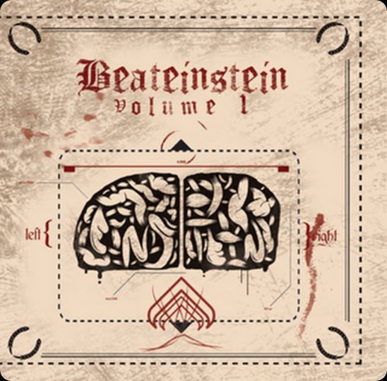 Beateinstein (Madkutz & Sérgio Montinho) - Volume 1 (Capa Frente)