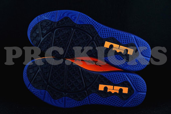 Nike Air Max LeBron X Low 8211 Orange  Blue 8211 Official Release Date