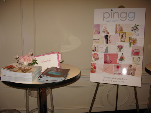 Some of the ideas from Sandals and invitations from Pingg.com were also on display for brides to look at.