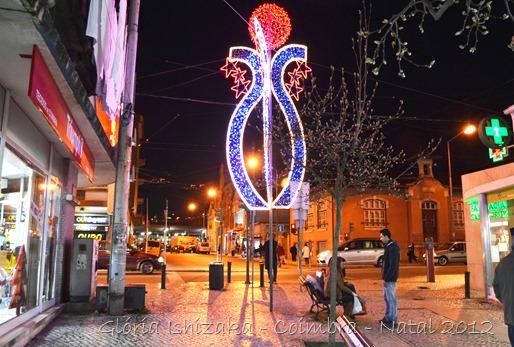 Glória Ishizaka - Coimbra - Natal 2012 - 5 - Rua das padeiras