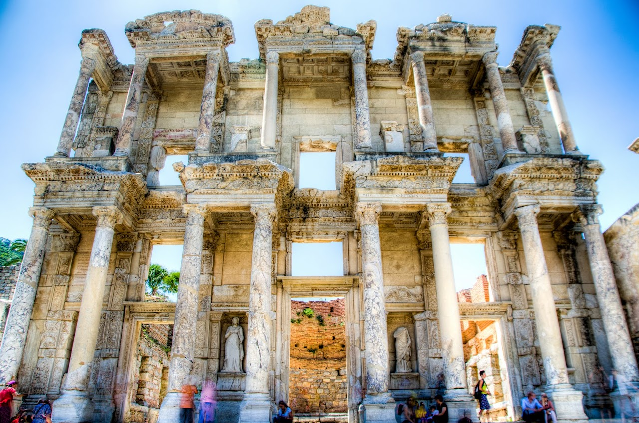 Library of Selcuk at Ephesus