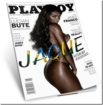 Playboy Romênia Agosto 2011 com Jaque Ex-BBB